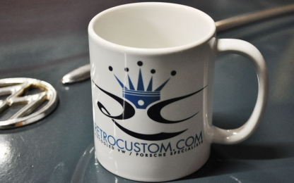 Retro Custom Mugs Now Available